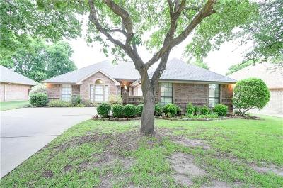 Benbrook Single Family Home Active Option Contract: 8220 Saddlebrook Drive