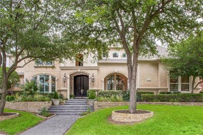 Plano Single Family Home Active Option Contract: 5832 Dove Creek Lane