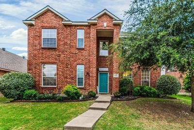 Allen Single Family Home For Sale: 1422 Silver Spur Drive