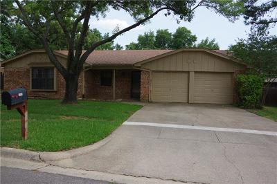 North Richland Hills Residential Lease For Lease: 8716 Copper Canyon Road