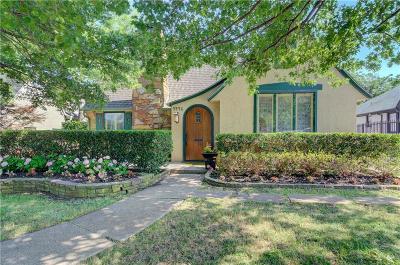 Single Family Home For Sale: 5446 McCommas Boulevard