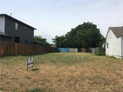 Dallas County Residential Lots & Land For Sale: 4807 W University Boulevard