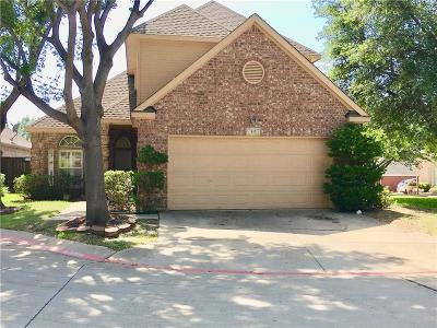 Euless Single Family Home Active Option Contract: 613 Ashbrook Court