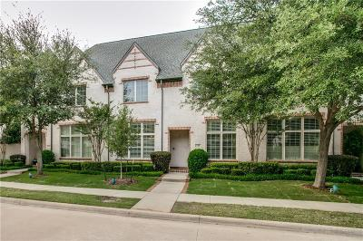 Coppell Townhouse For Sale: 736 Snowshill Trail