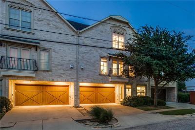 Highland Park, University Park Condo For Sale: 3429 Rosedale Avenue #3