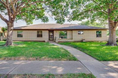 Plano Single Family Home Active Option Contract: 1901 Westridge Drive