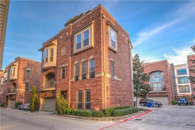 Dallas Townhouse For Sale: 2216 City Market Lane