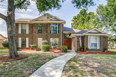 Rowlett Single Family Home Active Option Contract: 7704 Rice Drive