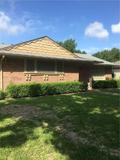 Ennis Single Family Home Active Option Contract: 1205 Sunset Drive