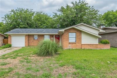 Mesquite Single Family Home For Sale: 2815 Cary Drive