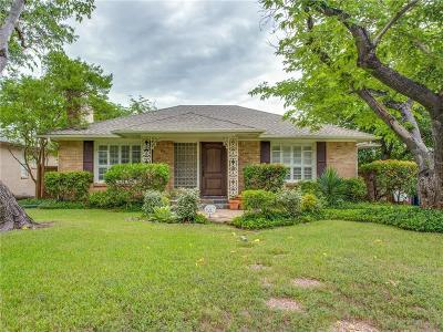 Single Family Home For Sale: 6347 Malcolm Drive