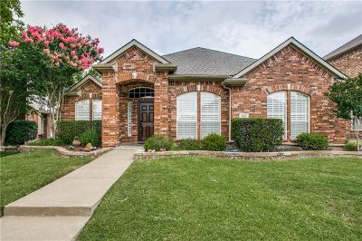 Allen Single Family Home Active Option Contract: 1827 Plum Court