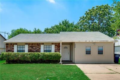 Allen Single Family Home Active Option Contract: 554 Northridge Drive
