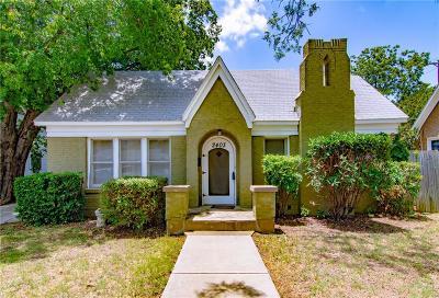 Brownwood Single Family Home For Sale: 2403 1st Street
