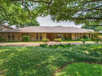 Single Family Home For Sale: 3940 Hockaday Drive
