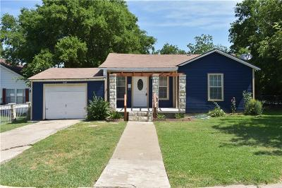 Haltom City Single Family Home Active Option Contract: 4149 Patricia Street