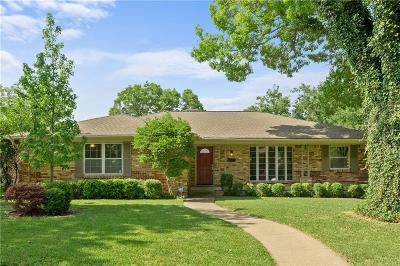 Dallas Single Family Home For Sale: 5218 Enchanted Lane