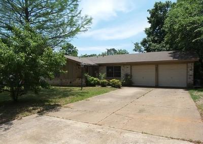 Euless Single Family Home Active Option Contract: 201 W Huitt Lane
