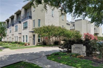 Townhouse For Sale: 4312 McKinney Avenue #10