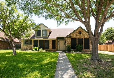 Grand Prairie Single Family Home Active Option Contract: 4148 Endicott Drive
