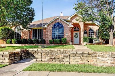 Mesquite Single Family Home Active Option Contract: 1706 Vicksburg Drive