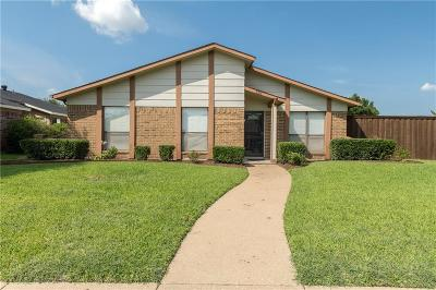Plano Single Family Home Active Contingent: 701 Mountain Pass Drive