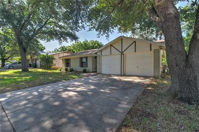 Watauga Single Family Home Active Option Contract: 6020 Blueridge Drive