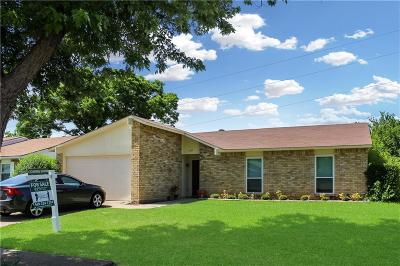 Mesquite Single Family Home Active Option Contract: 205 Hardwood Trail