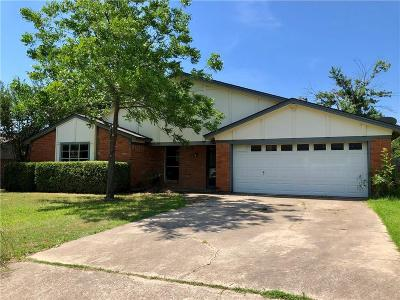 North Richland Hills Single Family Home For Sale: 7636 Parkway Drive
