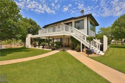 Abilene Single Family Home For Sale: 233 War Paint Road
