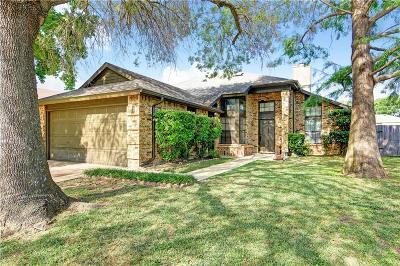 Mesquite Single Family Home Active Option Contract: 1600 Regent Street
