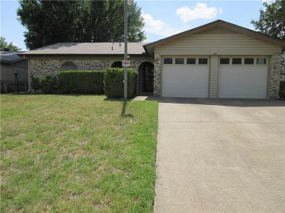 Irving Single Family Home Active Option Contract: 2813 Starlake Court