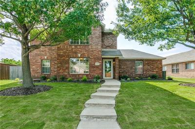 Frisco Single Family Home Active Option Contract: 6500 Liberty Court