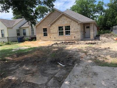 Dallas Single Family Home For Sale: 2851 Fernwood Avenue