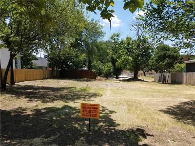 Fort Worth Residential Lots & Land For Sale: 1408 Lipscomb Street