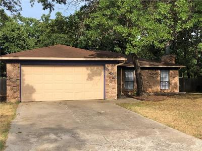 Azle Residential Lease For Lease: 804 Lake Crest Parkway
