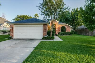 Plano Single Family Home Active Option Contract: 836 Pimernel Lane