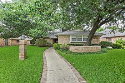 Plano Single Family Home Active Option Contract: 6817 Timothy Drive