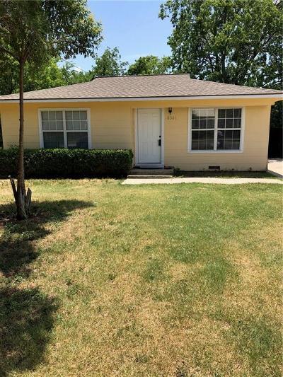 White Settlement Single Family Home For Sale: 8301 Melrose Street W