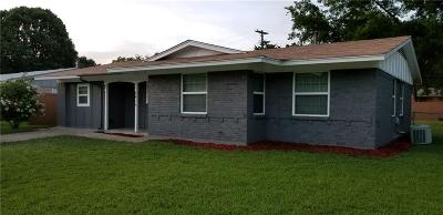 Mesquite Single Family Home For Sale: 2416 Bamboo Street