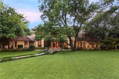 Dallas Single Family Home For Sale: 10211 Waller Drive