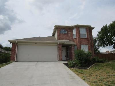 Mansfield Residential Lease For Lease: 2213 Charleston Drive