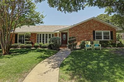 Dallas Single Family Home For Sale: 6607 Orangewood Drive