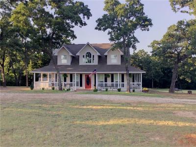 Navarro County Single Family Home Active Option Contract: 1535 County Road 3135