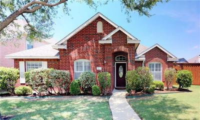 Allen Single Family Home Active Option Contract: 1510 Clear Creek Drive