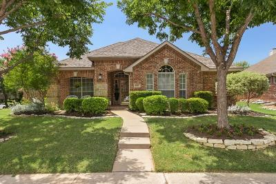 Frisco Single Family Home Active Option Contract: 9101 Homestead Lane