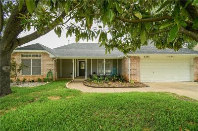 Grapevine Single Family Home Active Option Contract: 4205 Valleywood Drive