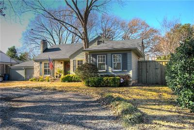 Dallas Single Family Home For Sale: 4303 Bluffview Boulevard