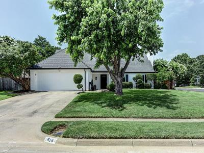 Euless Single Family Home Active Option Contract: 515 Mack Drive