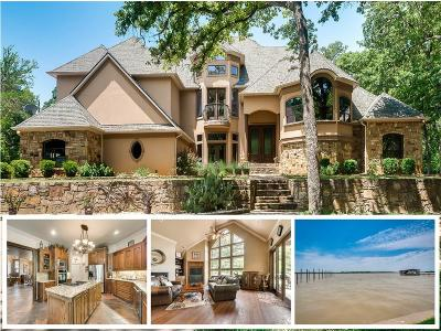 Azle Single Family Home For Sale: 9 A-Eagle Pointe N